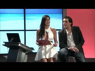 Barbara francesca ovieni tv presenter - upskirt legs  boobs - gorgeous women