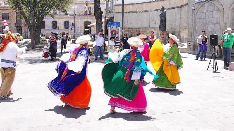 Cuenca, Ecuador Folk Dance