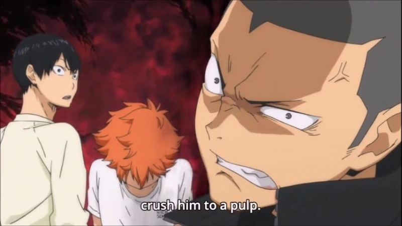 Tanaka and his smol orange birb