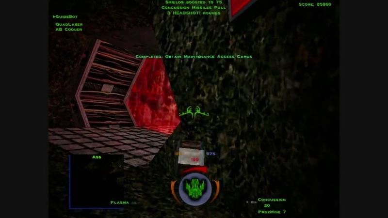 Descent 3 Mercenary Level 6 Part 1