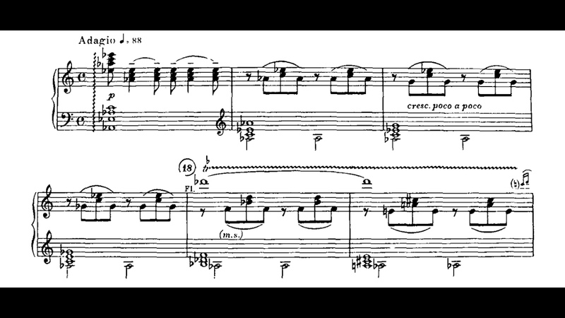 Khachaturian - Adagio of Spartacus and Phrygia - Cyprien Katsaris Piano