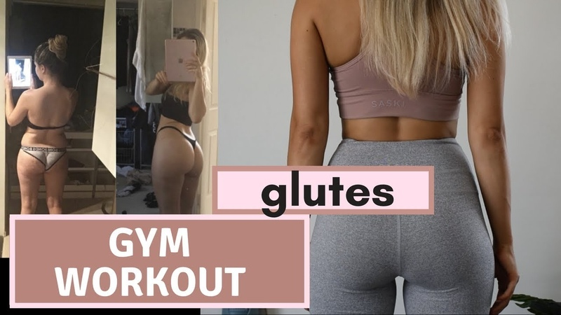 GYM WORKOUT GLUTES how I lost weight 12kg