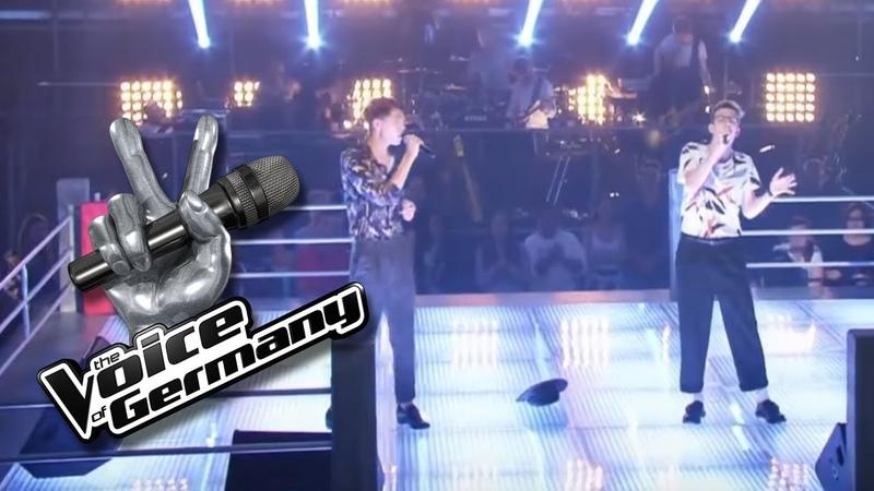Mary J. Blige - No More Drama | Juan vs. Robin | The Voice of Germany 2017 | Battles