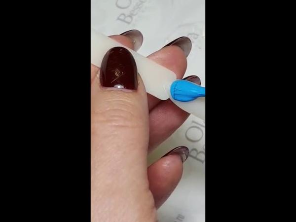 Ольга Бессонова Nailico Зимние синие цвета