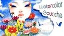 A Summer view Watercolor Gouache Bao Pham