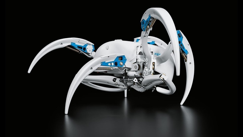 3 Cool New Bionic Robots With AI Technology From FESTO You Didn't Know