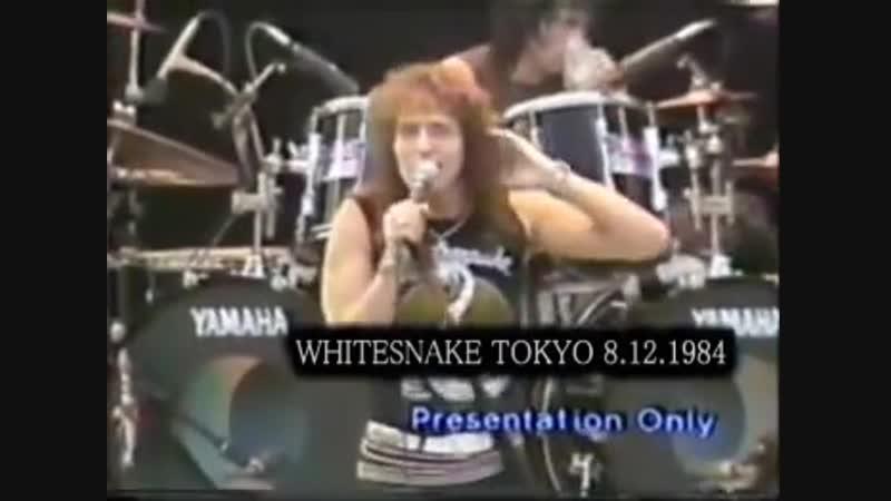 Whitesnake Kings Of The Day Live Tokyo 08.12.1984