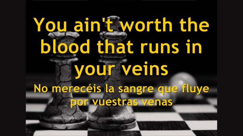 Eddie Vedder Mike McCready - Masters Of War (Bob Dylan cover) - Subtitulada en español e inglés
