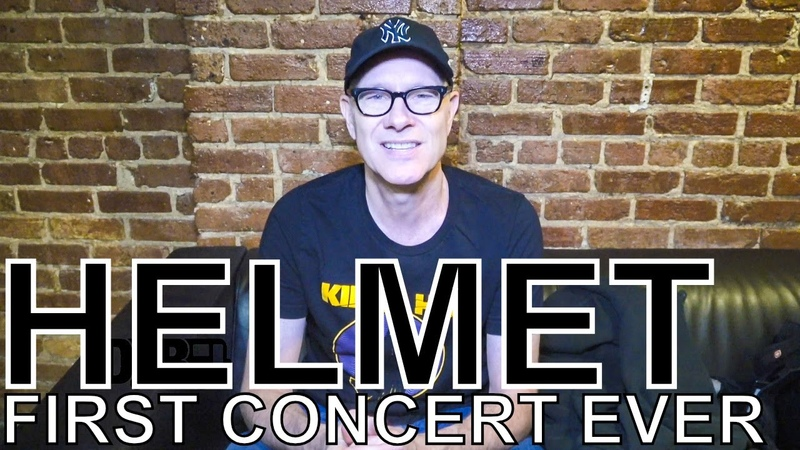 Helmet's Page Hamilton FIRST CONCERT EVER Ep 53
