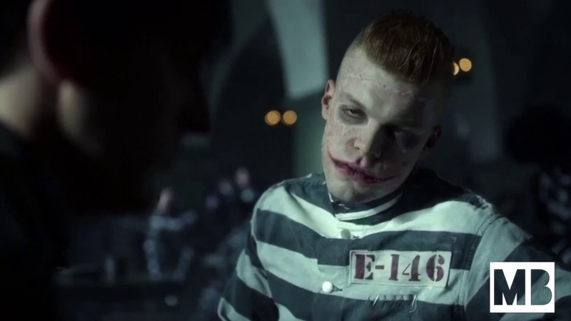 Gotham - Penguin tries to eat in Arkham Asylum while Jerome starts a conversation and questions him