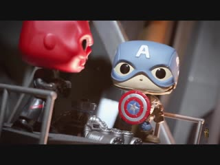 Captain America and Red Skull Movie Moment!