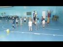 Тренировка по футболу у первой группы Малышей г. Югорск сегодня у нас эстафеты