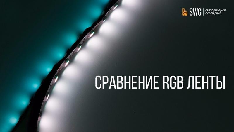 Какую RGB ленту выбрать Сравнение с премиальным сегментом