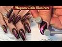 New Magnetic Nail Polish In Action 😱 Cat Eyes Magic Nails ✨