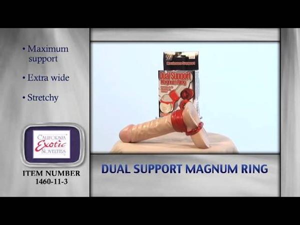 Эрекционное кольцо на пенис Dual Support Magnum Ring