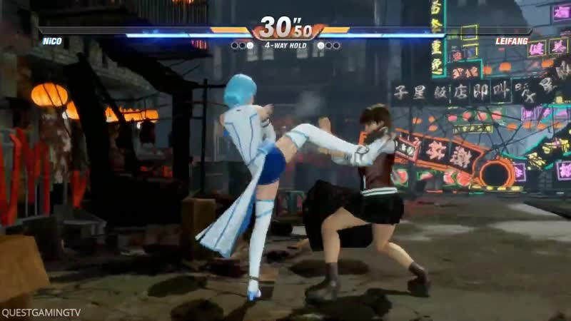 Dead or Alive 6 New Gameplay LEIFANG vs NICO
