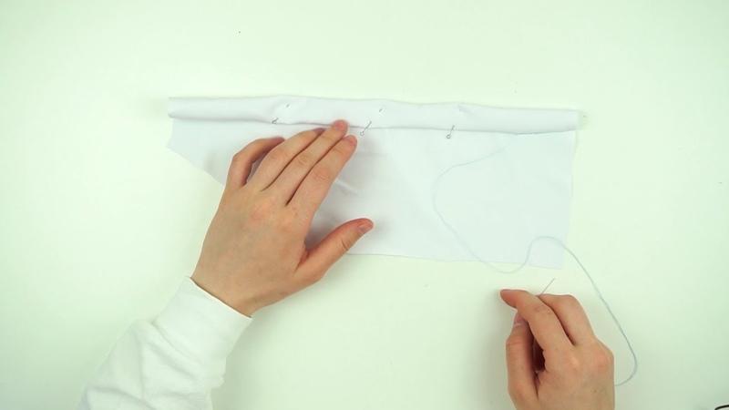 Подгиб низа изделия потайными стежками Как аккуратно обработать низ изделия