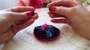 Мастер класс. Объемная вышивка тканями бисером и натуральными камнями. Embroidery