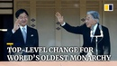 First abdication by a Japanese emperor in over 200 years paves way for son to ascend the throne