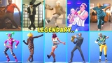 ALL LEGENDARY FORTNITE DANCES VS REAL LIFE..SMOOTH MOVES, ORANGE JUSTICE, ELECTRO SWING