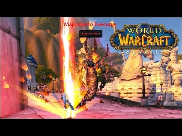 WoW Classic 1.12 - Stress Test 24.5.19