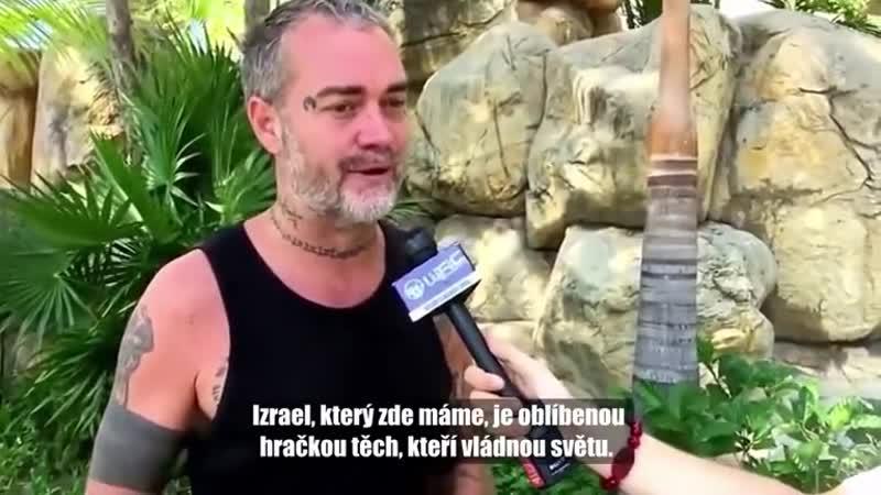 Ken O'Keefe o mezinárodních bankéřích a Izraeli