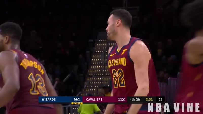 Larry Nance Jr. Throws Down Ridiculous Alley-Oop Dunk!!