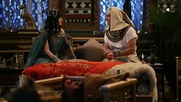 Os Dez Mandamentos Capítulo 128 18_01_2018 Quinta ( Quarta praga_ enxame de moscas invadiu o reino egípcio) Completo-x5w3obp