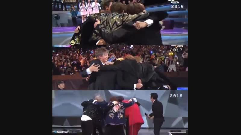 2016- 2017- 2018 Thank You BTS
