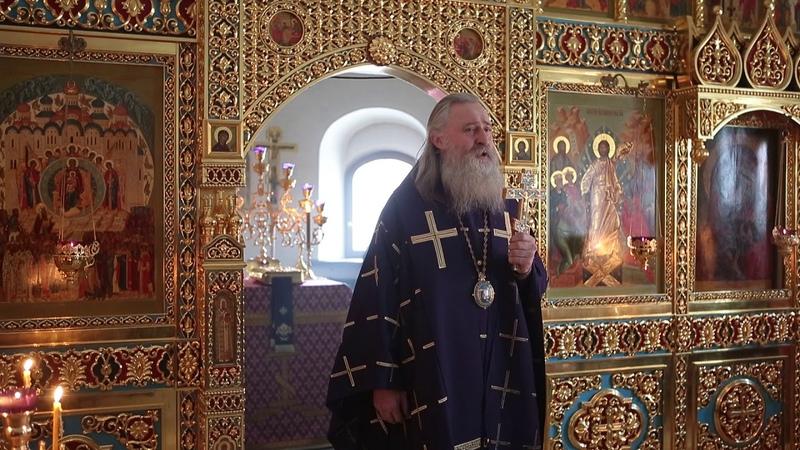 Архиепископ Феогност совершил Литургию Преждеосвященных Даров в Зачатьевском монастыре