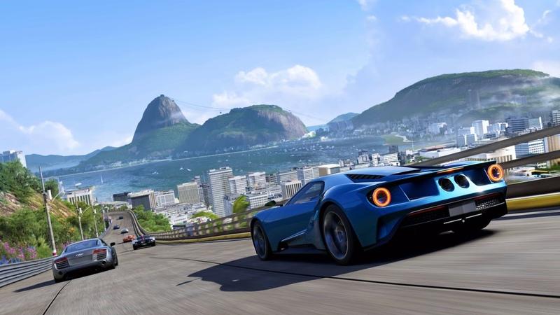 Картинка игра. Игры, Forza Motorsport 6: Apex, гонки, Forza Motorsport 6, трасса, машины.
