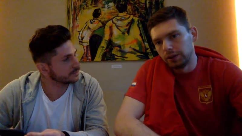 Орлов и Кузнецов отвечают на вопросы болельщиков.ПОДПИСЫВАЙТЕСЬ vk.comdela_hockey