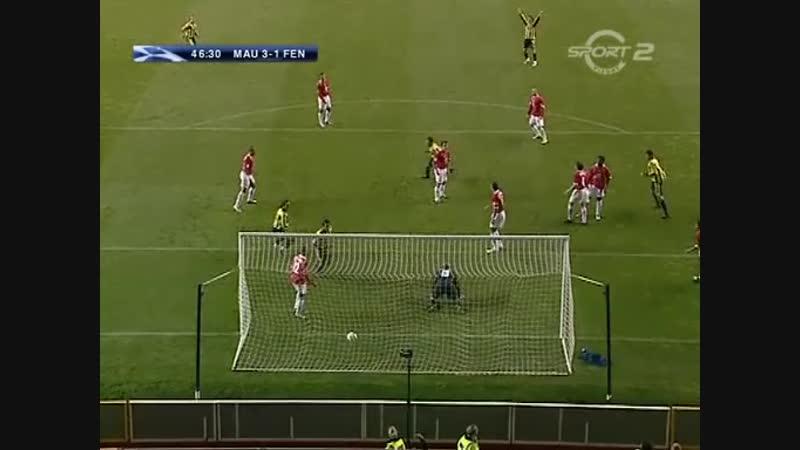 28 09 2004 Лига чемпионов Групповой турнир 2 тур Манчестер Юнайтед Англия Фенербахче Стамбул Турция 6 2