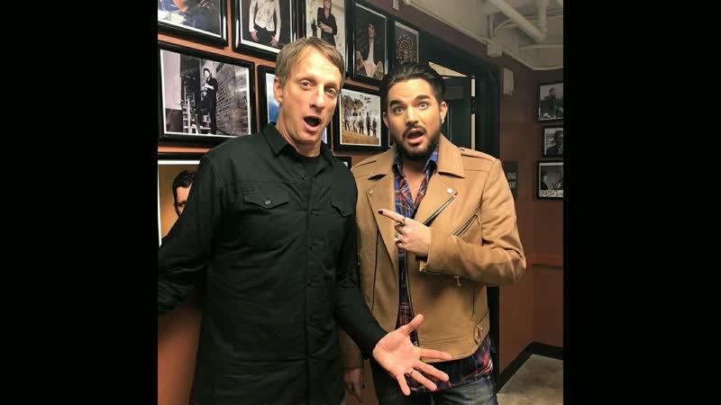 Adam Lambert at NPR's Ask Me Another ,San Diego, California 2018-12-12