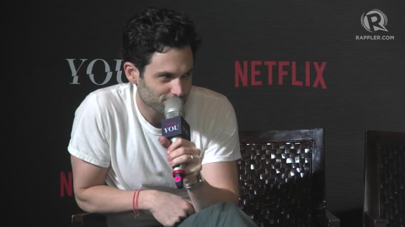 Penn Badgely talks about cotton candy as Joe of You