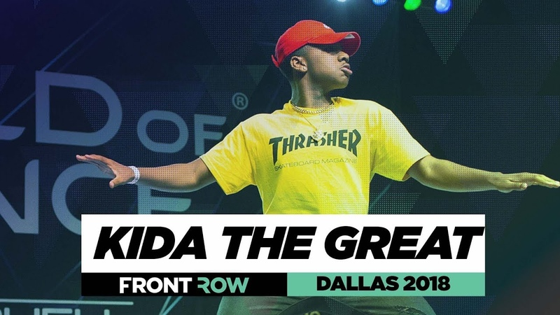 Kida The Great | FrontRow | World of Dance Dallas 2018 | WODDALLAS18