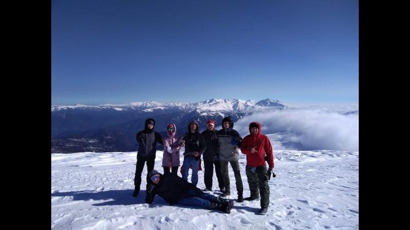 Восхождение. Вид на гору Оштен с горы Блям. ФОТО-РОЛИК.