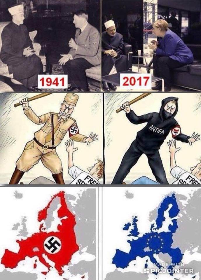 1933 und 2018 so sehen Nazis damals und Heute aus