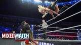 Charlotte Flair takes out Jimmy Uso &amp Naomi in WWE Mixed Match Challenge showdown