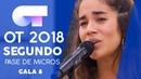 90 MINUTOS JULIA SEGUNDO PASE DE MICROS GALA 8 OT 2018