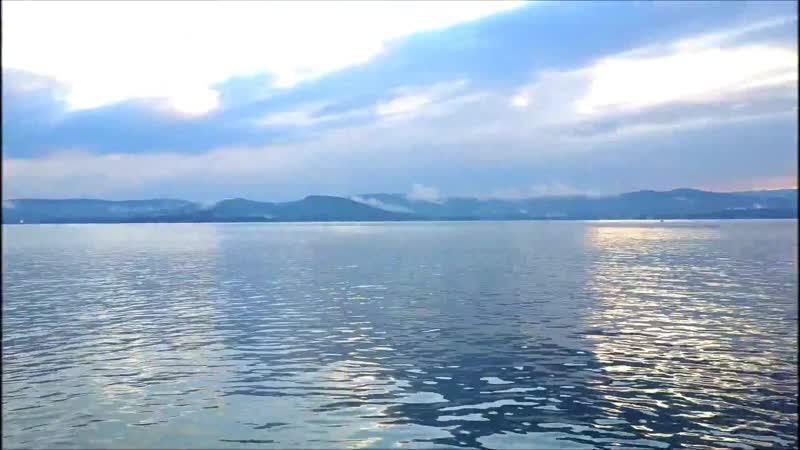 Озеро Тургояк с высоты Южный Урал город Миасс с дрона DJI Mavic Pro
