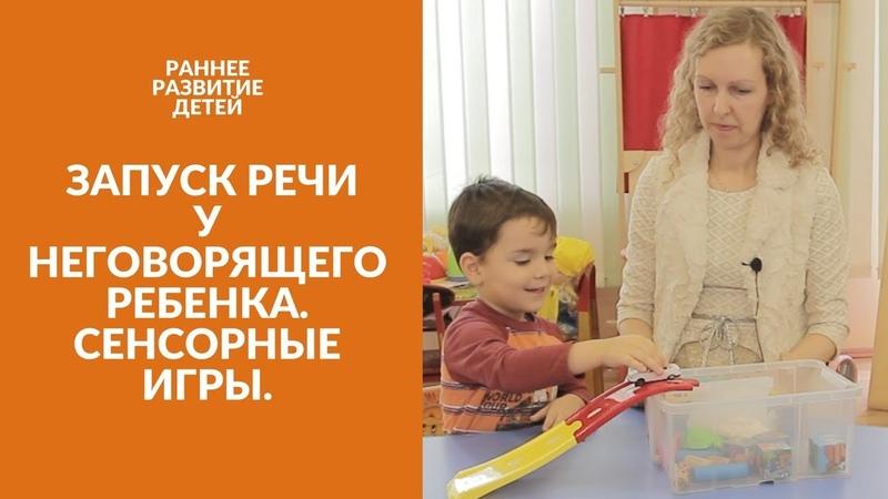 Запуск Речи у Неговорящего ребенка | Сенсорные Игры. Развитие Речи