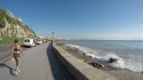 En bicicleta en Mar del Plata desde La Rambla hasta La Perla (Terrazas del Mar) - Biking in MDQ