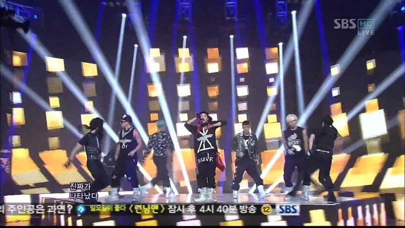 BIGBANG_0318_SBS Inkigayo_FANTASTIC BABY_1st Award