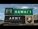 NCAAF 2018 Week 03 Hawai'i Rainbow Warriors Army Black Knights EN