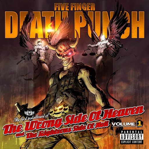 Five Finger Death Punch альбом The Wrong Side of Heaven and the Righteous Side of Hell, Vol. 1 (Deluxe)
