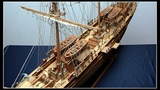 Largest THERMOPYLAE Clipper Tall Ship (Cutty Sark's Rival) scratch built 164 rare Full Screen