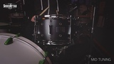 Pork Pie Little Squealer 13x7'' Vented Snare Drum - Flat Black Lacquer
