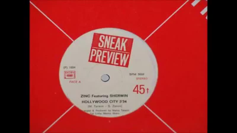 Zinc Feat. Sherwin - Hollywood City (Vocal Version) - 84