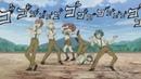 いろんなアニメのジョジョパロディシーン集